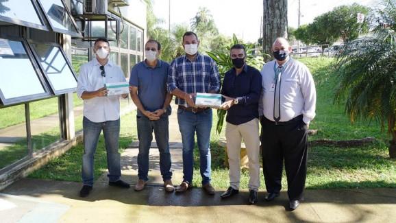 Governo Municipal recebe a doação de 1600 testes rápidos para detecção da Covid-19
