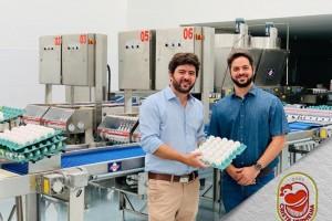 Com tecnologia de ponta Crista Vermelha inicia produção de ovos em Patrocínio