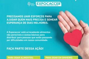 Expocaccer lança campanha solidária de combate à fome durante pandemia