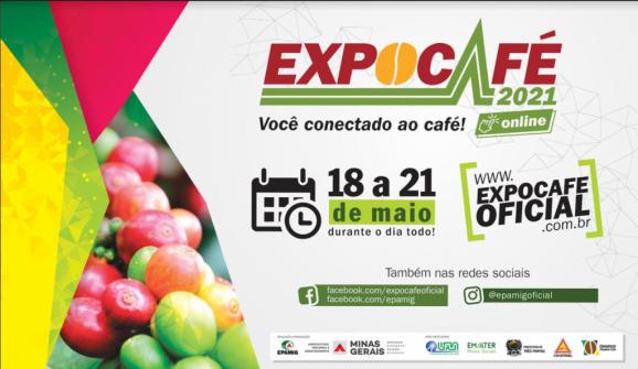 Expocafé 2021 terá estandes virtuais para apresentação de maquinários e produtos agrícolas
