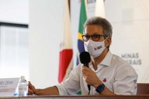 Zema sanciona auxílio emergencial de R$ 600 proposto pela ALMG