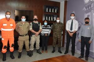 Presidente se reúne com todos os setores de segurança