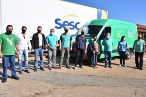 Patrocínio recebe doações de 310 cestas básicas e 310...