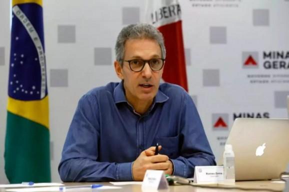 Romeu Zema anuncia o fim do parcelamento dos salários