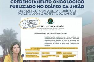 Credenciamento Oncológico da Santa Casa é publicado no Diário...