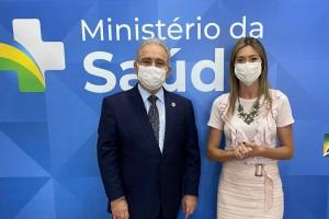 Deputada Greyce Elias e Ministro Queiroga anunciam Credenciamento Oncológico...