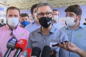 Romeu Zema participa da inauguração do Pronto Socorro, em...