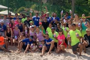 Recanto da Serra sediou etapa estadual de Beach Tênis